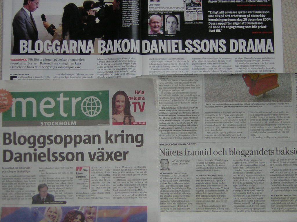 bloggar danielsson