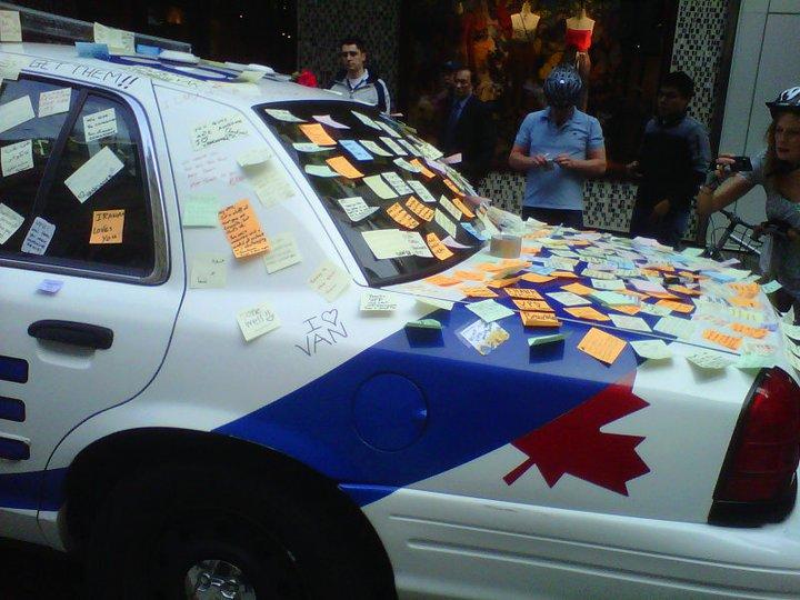 vpd police car