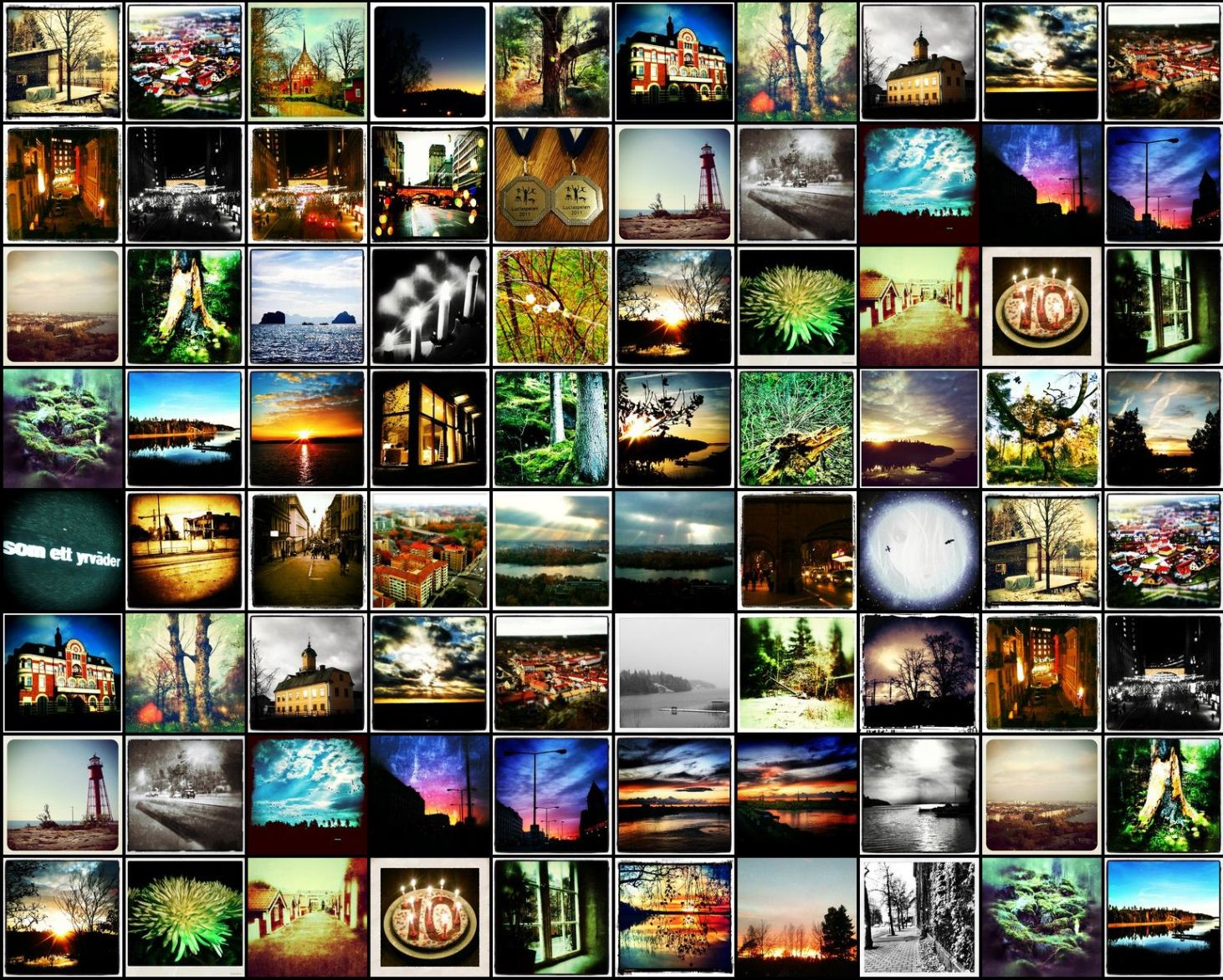 How to create a twitter background image from your instagram photos twitter background instagram photos voltagebd Image collections