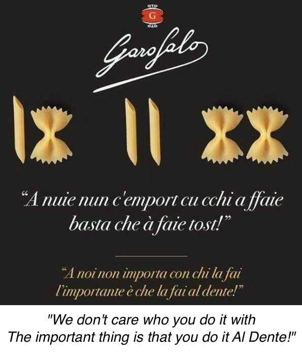 garofolo barilla spoof